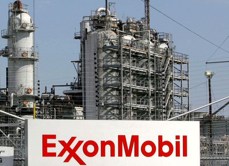 FILE PHOTO: A view of the Exxon Mobil refinery in Baytown, Texas