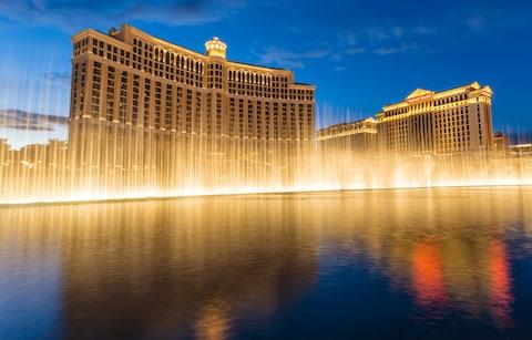 bellagio fountains - Credit: Getty