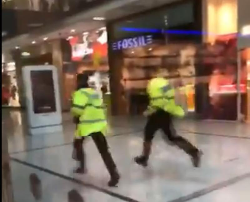 Man arrested after five stabbed at UK shopping mall