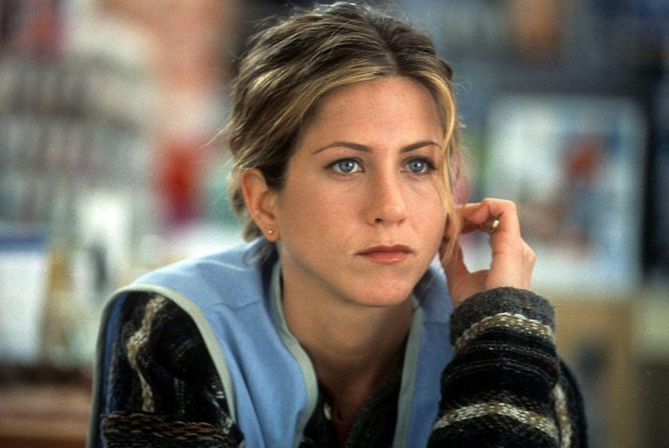 <p>Jennifer plays a clerk in the 2002 film <em>The Good Girl</em>. She strikes up an affair with a guy who thinks he's Holden Caulfield from <em>The Catcher in the Rye</em>. Worth the watch for the bizarre plot.<br></p>