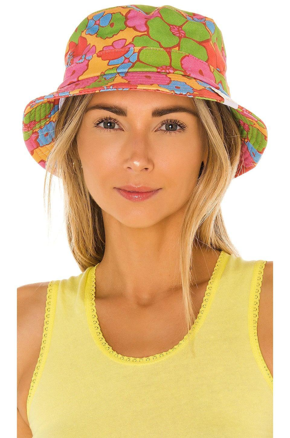 <p>This <span>Frankies Bikinis Jax Bucket Hat</span> ($51) is ready for your next beach day.</p>