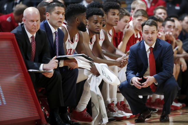 Archie Miller's Indiana debut did not go as planned. The Hoosiers lost by 21 to Indiana State. (Getty Images)