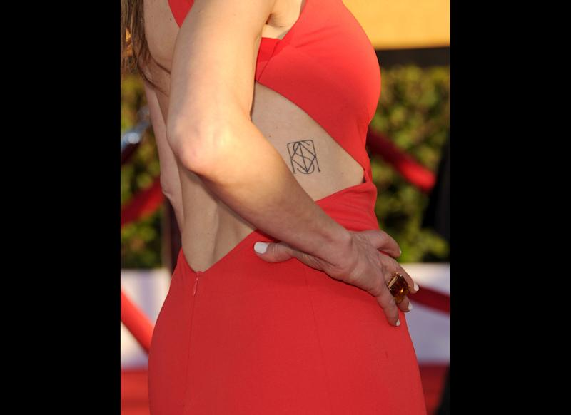 Actress Kyra Sedgwick arrives at the 18th Annual Screen Actors Guild Awards at The Shrine Auditorium on January 29, 2012 in Los Angeles, California. (Jason Merritt, Getty Images)