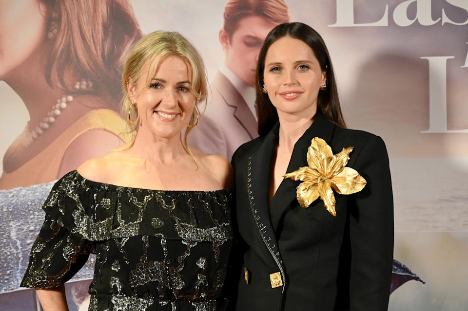 Felicity Jones took on 'The Last Letter From Your Lover' after bonding with the book's author Jojo Moyes. (Dave J Hogan/Getty Images for Studio Canal)