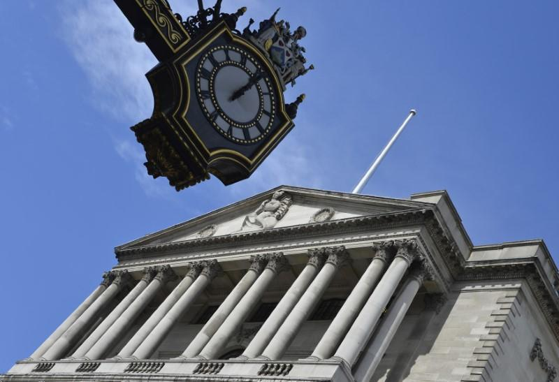 The Bank of England is seen in the City of London August 7, 2013. REUTERS/Toby Melville/Files