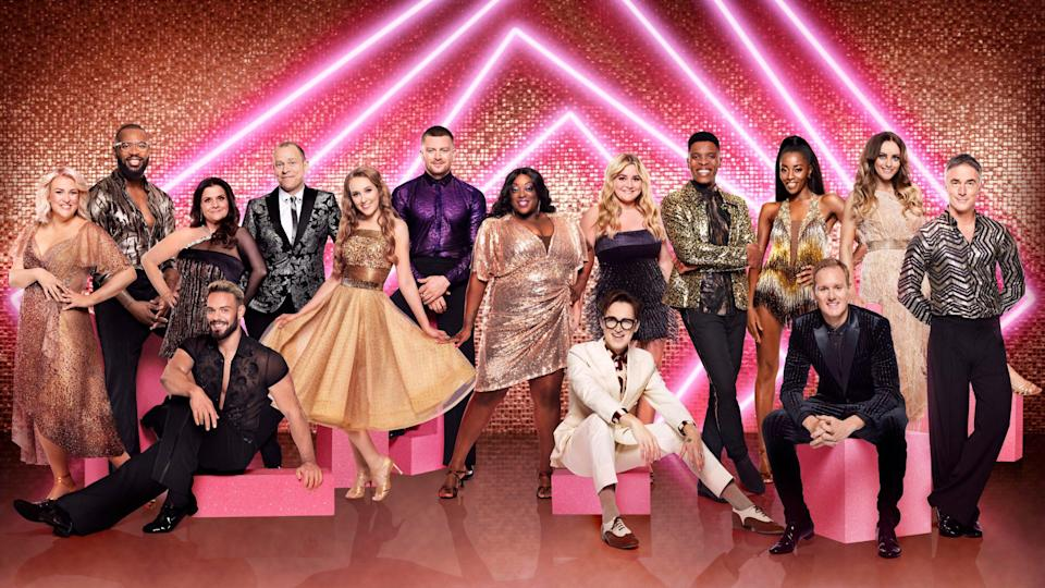 The Strictly Come Dancing contestants for the current series - Ray Burmiston/BBC