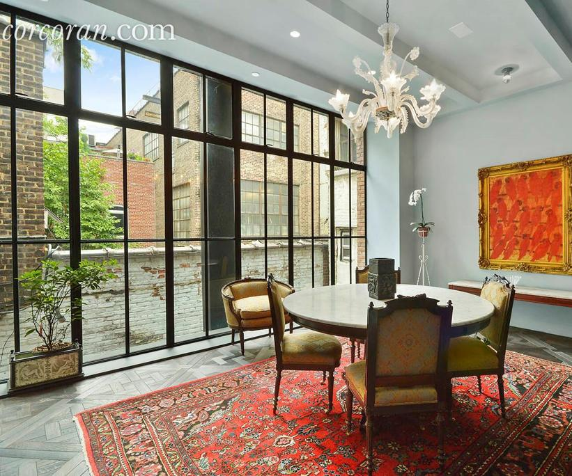 <p>With the cozy cityscape beckoning through the window, you can wake up feeling fortunate that this glam pad is all yours.</p>
