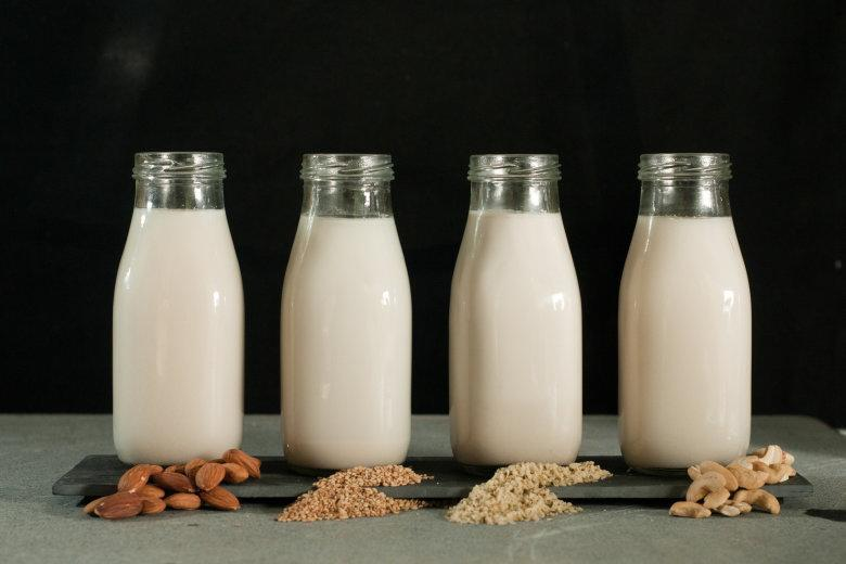 Plant milk made from organic sources like almonds is growing in popularity (HuffPost)