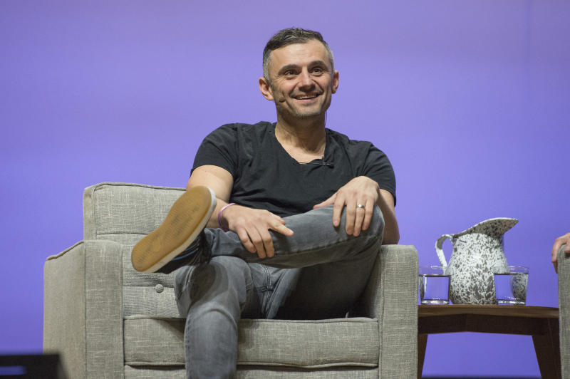 Gary Vaynerchuk seen on day one of Summit LA18 in Downtown Los Angeles on Sunday, Nov. 2, 2018, in Los Angeles. (Photo by Amy Harris/Invision/AP)