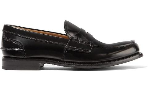 Church's Pembrey glossed-leather loafers - Credit: Net-A-Porter