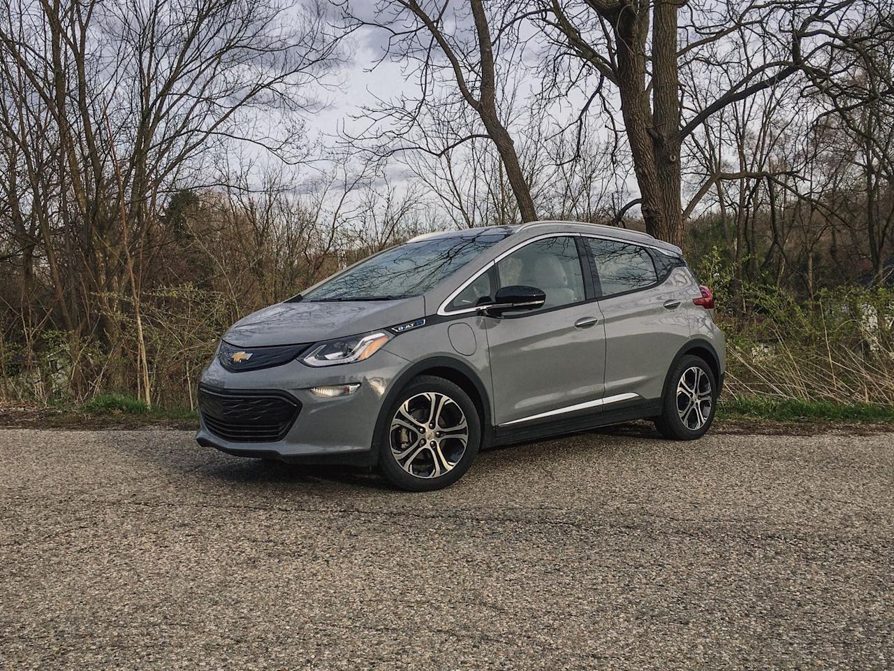 """<p>The <a href=""""https://www.caranddriver.com/chevrolet/bolt-ev"""" target=""""_blank"""">2020 Bolt EV</a> is an all-electric hatchback with a long driving range, spacious cabin, and affordable price tag. Capable of traveling up to 259 miles on a single charge and starting at less than $40,000, the Bolt attempts to make EVs more accessible to everyone. Its electric motor provides almost-instant acceleration, and the <a href=""""https://www.caranddriver.com/chevrolet"""" target=""""_blank"""">Chevy</a> hatchback is truly fun to drive. An affordable fast-charging option and an innovative <a href=""""https://www.caranddriver.com/features/a23477930/electric-car-one-pedal-driving/"""" target=""""_blank"""">regenerative-braking</a> paddle also enhance the user experience. Likewise, people will appreciate its roomy accommodations, available infotainment and driver-assistance technologies, and crossover-like cargo capacity. While everyone won't be enchanted by the 2020 Bolt's staid looks and cheap interior, they'll likely appreciate everything else it offers.</p><p><a class=""""body-btn-link"""" href=""""https://www.caranddriver.com/chevrolet/bolt-ev"""" target=""""_blank"""">Review, Pricing, and Specs</a></p>"""