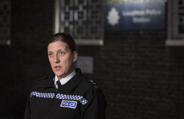 Chief superintendent Tracey Harman speaks to the media outside Loughton Police Station in Essex (Picture: PA/Getty)