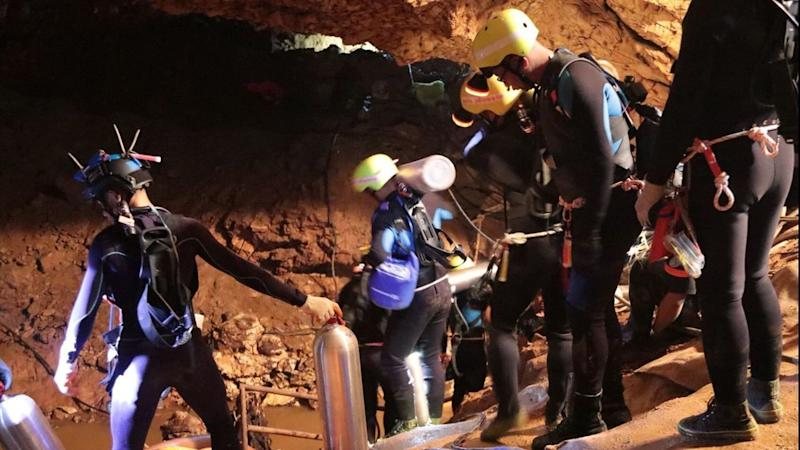 Thailand Cave Search