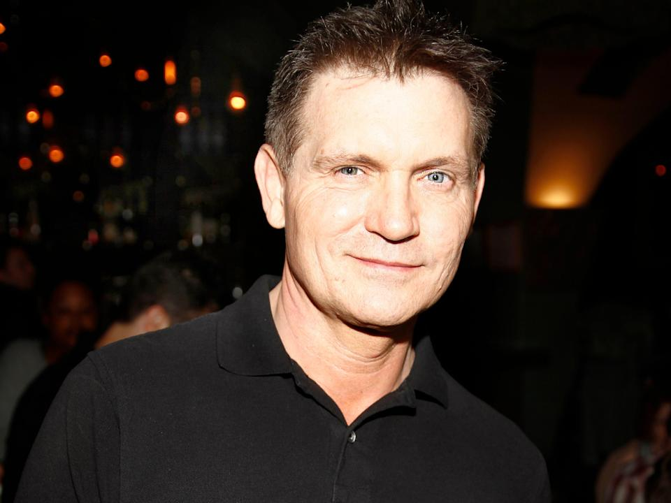 """Writer of Scream Kevin Williamson before the premiere at Rockwell Table & Stage Hosts Unauthorized Movie Parody Featuring """"Scream"""" at Rockwell Table & Stage on October 18, 2014 in Los Angeles, California."""
