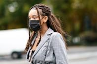 """<p>If someone told us this time last year that face masks would be the most in-demand fashion accessory of 2020, we wouldn't have believed it. But, as we know all too well, masks are necessary for keeping you, your loved ones, and your community healthy. That said, there's no reason your practical face mask can't look good, too. (In fact, a bunch of <a href=""""https://www.elle.com/fashion/shopping/g32215868/fashion-face-masks/"""" rel=""""nofollow noopener"""" target=""""_blank"""" data-ylk=""""slk:brands"""" class=""""link rapid-noclick-resp"""">brands</a> are offering their stylish spin on the safety staple.)</p><p>While one or two reusable options are sufficient, many of us have resorted to impulse-buying new masks. If you're looking to beef up your collection—but don't want to spend a small fortune on them—<a href=""""https://go.redirectingat.com?id=74968X1596630&url=https%3A%2F%2Fwww.nordstrom.com%2Fbrowse%2Fhome%2Fsanitizers-personal-care%2Ffilter%2Fface-masks%7E8000786_60205864%3Fflexi%3D8000786_60205864&sref=https%3A%2F%2Fwww.seventeen.com%2Flife%2Fg34994287%2Fnordstroms-sale-masks-2020%2F"""" rel=""""nofollow noopener"""" target=""""_blank"""" data-ylk=""""slk:Nordstrom is taking up to 40% off"""" class=""""link rapid-noclick-resp"""">Nordstrom is taking up to 40% off</a> stylish masks right now. From fun prints by top designers like Lele Sadoughi to versatile neutrals by Madewell, there's something here for just about everyone. </p>"""