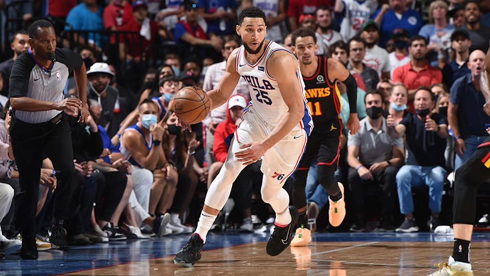 Ben Simmons' poor performance during the Eastern Conference semi-finals has lead to the breakdown in his relationship with the Philadelphia 76ers. (Photo by David Dow/NBAE via Getty Images)