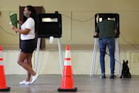 """<p>Florida is a state which has been closely followed over the course of the evening, as Democrats hoped to turn the state blue, but is ultimately projected to have voted for Trump.</p><p>However, there was another vote in the southern state taking place. Citizens voted in support of raising the minimum wage to $15 (£11.55) per hour, up from the current minimum wage of $8.56 (£6.59), according to the <a href=""""http://www.washingtonpost.com/business/2020/11/04/florida-amendment-2-minimum-wage/"""" rel=""""nofollow noopener"""" target=""""_blank"""" data-ylk=""""slk:Washington Post."""" class=""""link rapid-noclick-resp"""">Washington Post.</a></p>"""