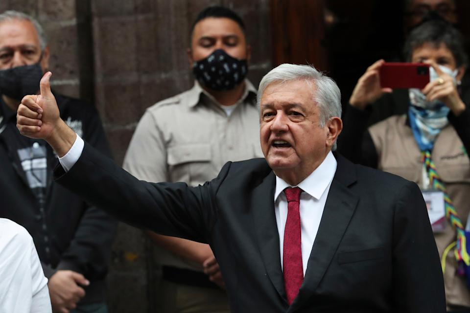 Mexico Elections (Copyright 2021 The Associated Press. All rights reserved.)