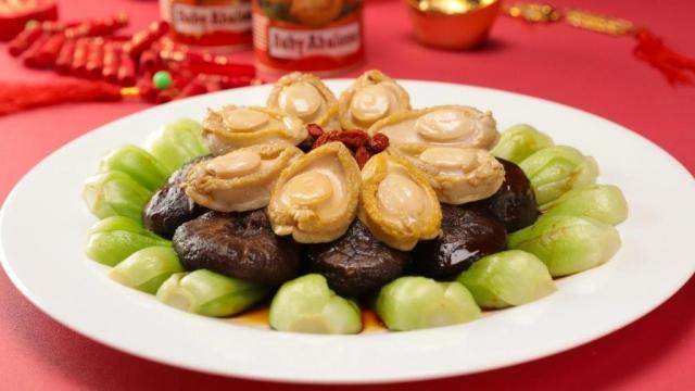 Fortune Braised Mushrooms and Abalones