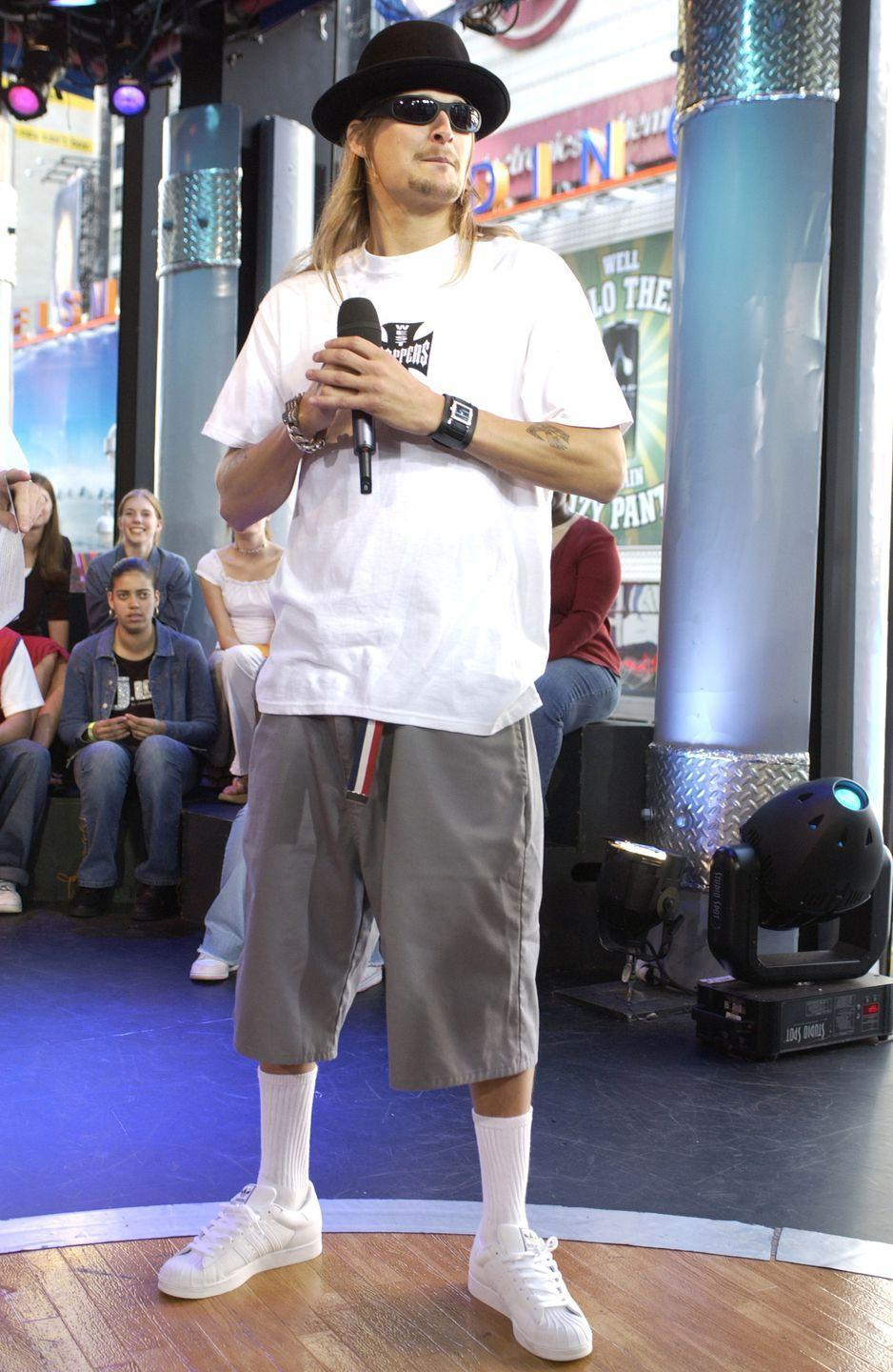 <p>Those socks. I just can't. Everything else in this outfit is classic Kid Rock, however. </p>