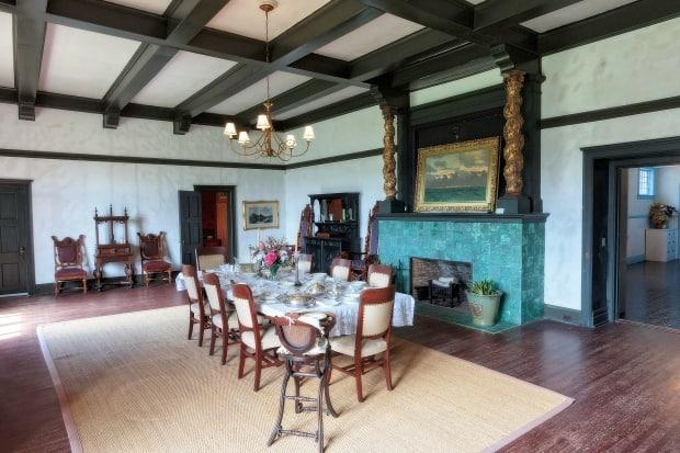 Usher said the tourist site hopes to offer restaurant-style meals in the Covenhoven Estate dining room during the winter, once the heating system is repaired.