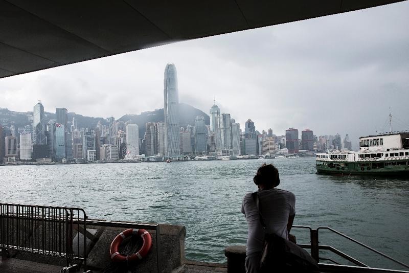 A thriving business of shady middle-men is openly advertising their services to smuggle blood to Hong Kong from China, to skirt the mainland's ban on gender testing (AFP Photo/ISAAC LAWRENCE)