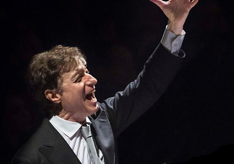 Italian conductor Roberto Abbado will lead the 'Tales of Triumph' at the Dewan Filharmonik Petronas. — Picture courtesy of Malaysian Philharmonic Orchestra