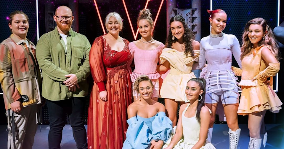 The Voice's top 4.