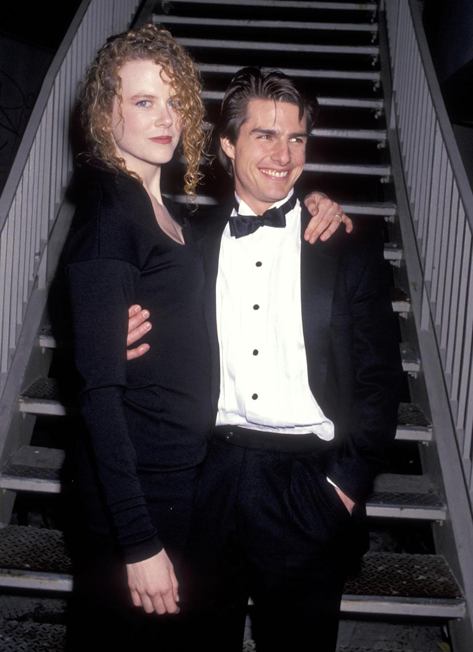 Kidman, pictured in 1991, was married to actor Tom Cruise when she experienced both pregnancy losses. (Photo: Getty Images)