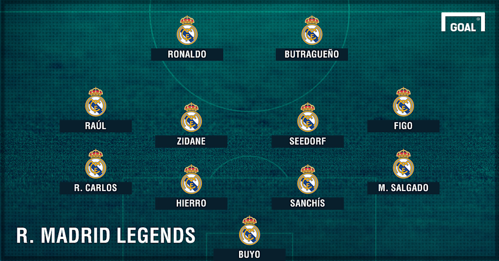 GFX Real Madrid legends