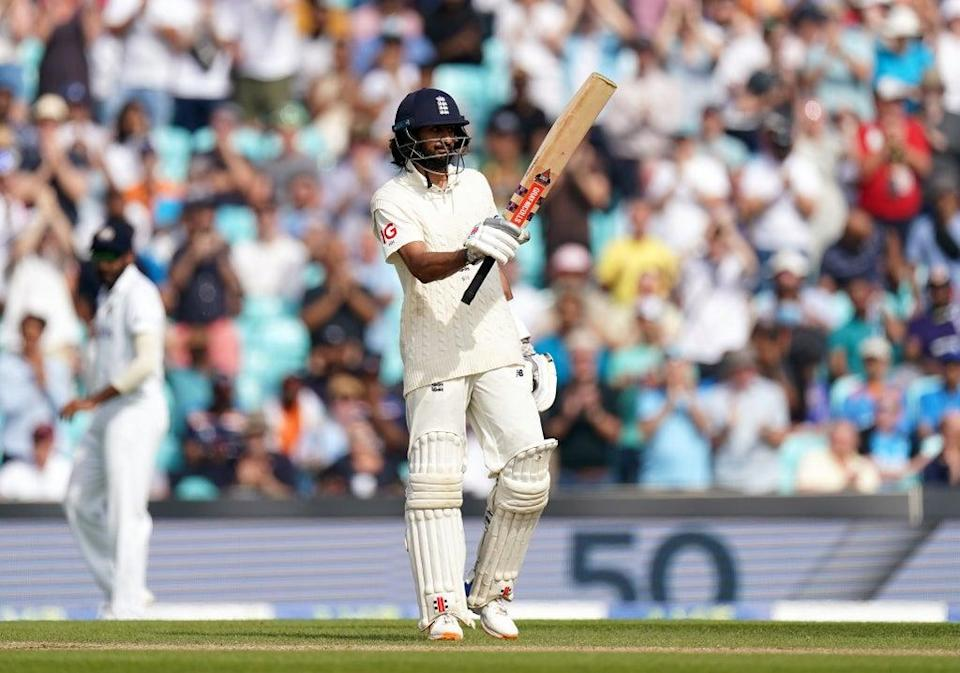 Haseeb Hameed's half-century led England's resistance (Adam Davy/PA) (PA Wire)