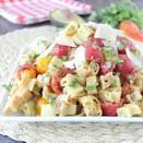 """<p>Turn the classic BLT sandwich into a drool-worthy pasta salad when you whip up this dish. Complete with crunchy bacon, ripe tomatoes, creamy avocados, and hearty noodles, this side dish goes well with summer barbecues and outdoor events.</p> <p><strong>Get the recipe:</strong> <a href=""""http://whitneybond.com/2015/06/19/bacon-tomato-avocado-pasta-salad"""" class=""""link rapid-noclick-resp"""" rel=""""nofollow noopener"""" target=""""_blank"""" data-ylk=""""slk:bacon tomato avocado pasta salad"""">bacon tomato avocado pasta salad</a></p>"""