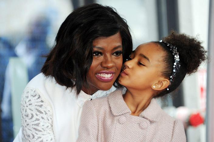 <p>In January 2017, Genesis gave her mom a kiss on the cheek as the duo posed for photos by the actress' new star on the Hollywood Walk of Fame. </p>