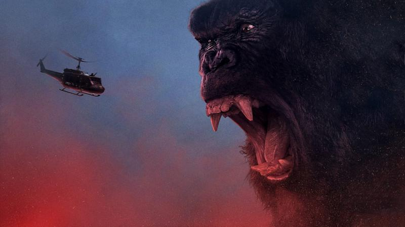 Poster artwork for 'Kong: Skull Island'. (Credit: Legendary Pictures)