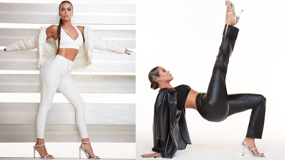 Khloe Kardashian's line of inclusive footwear is now available at Good American.