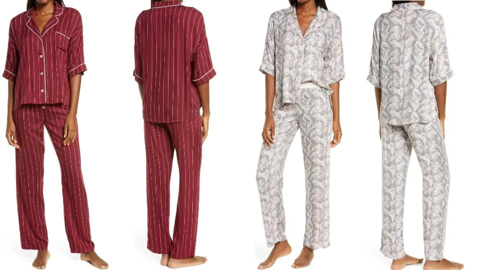 PJ Salvage Print Pajamas - Nordstrom, $47 (originally $78)
