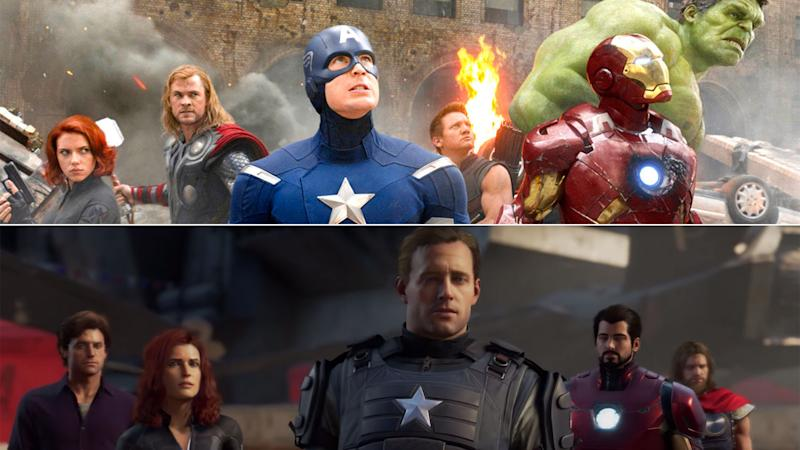 Marvel's Avengers clearly wants to be seen as the video game MCU. (Square Enix/Disney)