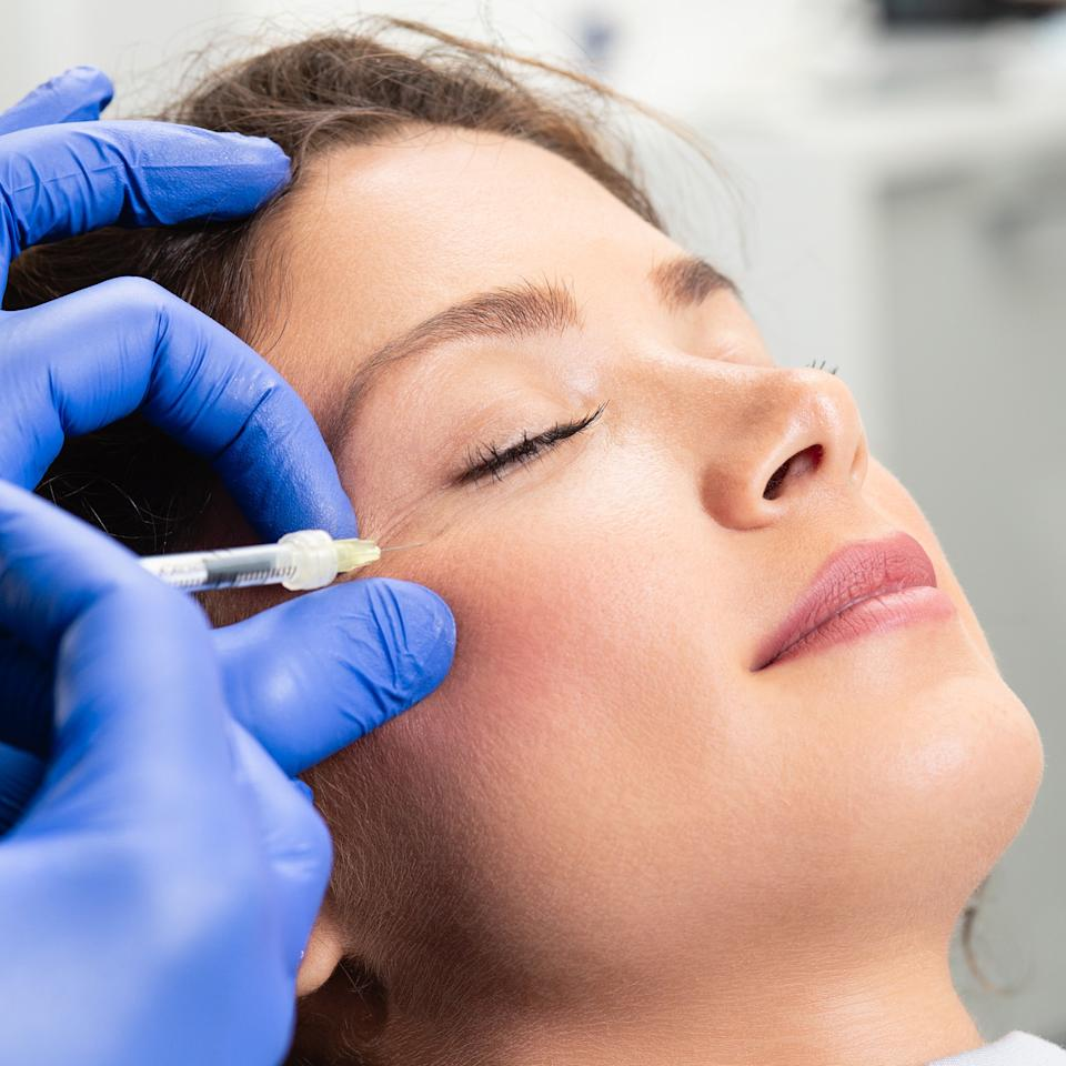 "<p>Absolutely. Botox (and competitors like Dysport, Xeomin and <a href=""https://www.allure.com/story/jeuveau-neurotoxin-facial-injectable-fda-approved?mbid=synd_yahoo_rss"">Jeuveau</a>) are highly purified toxins that can temporarily erase or reduce horizontal forehead lines, vertical frown lines, and crow's-feet. ""The injections slow muscles that contract hundreds of times a day, eventually etching lines in the skin,"" says New York City board-certified plastic surgeon Michael Kane, author of <em>The Botox Book</em>.</p> <p>Basically, wherever Botox is injected in the body, it paralyzes the muscles underneath the skin. ""Botox interferes with the nerve stimulation of the muscle causing excess facial expressions,"" Lancer explains. ""When the muscle relaxes, the line diminishes.""</p> <p>In addition to relaxing frown lines in between the eyebrows, Botox can also lift the corners of the mouth that sag with age, smooth out the ""pincushion"" look in some chins, soften smoker's lines around the mouth, and soften vertical neck cords.</p>"
