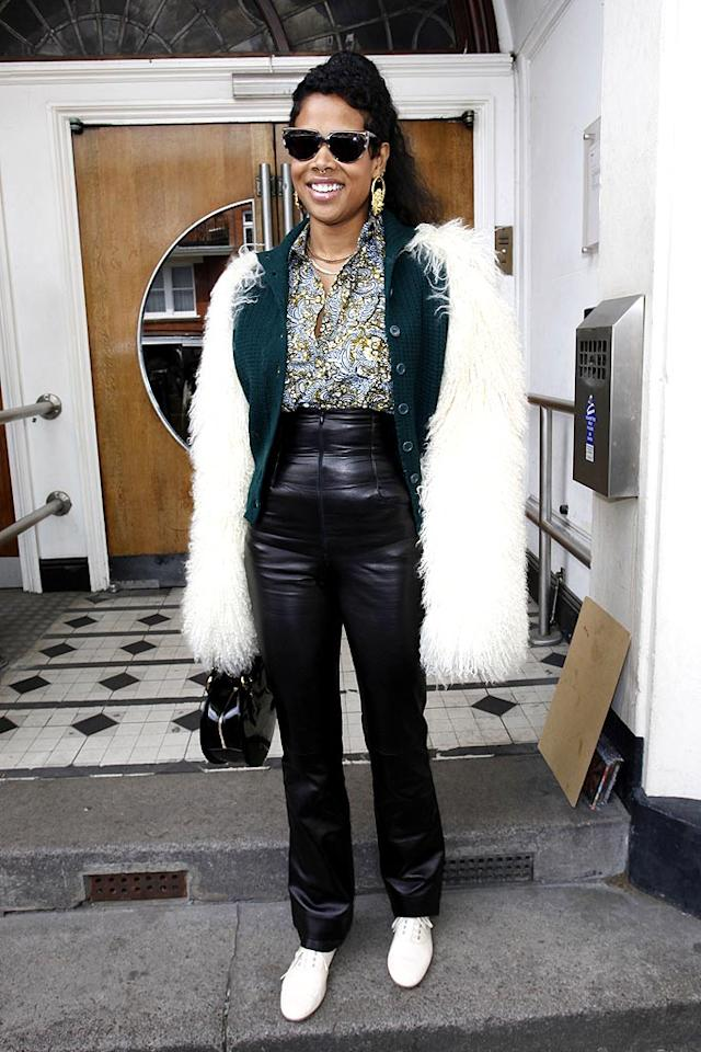 """Kelis' """"Milkshake"""" used to bring all the boys to the yard. These days, her ghastly getups keep the boys at bay, including her ex, Nas. Neil Mockford/<a href=""""http://www.filmmagic.com/"""" target=""""new"""">FilmMagic.com</a> - May 12, 2010"""