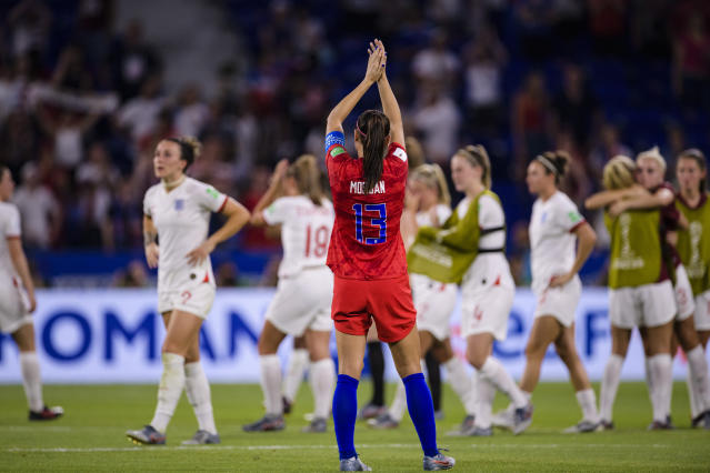 England is the latest victim of the United States' march to another World Cup final. (Getty)