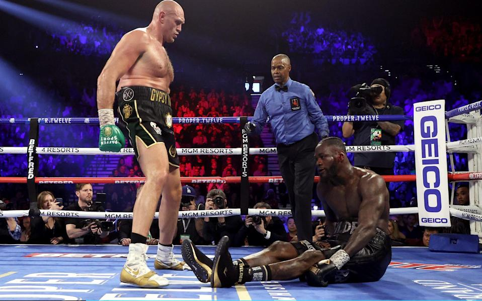 Fury dominated the second fight with Wilder - Getty Images