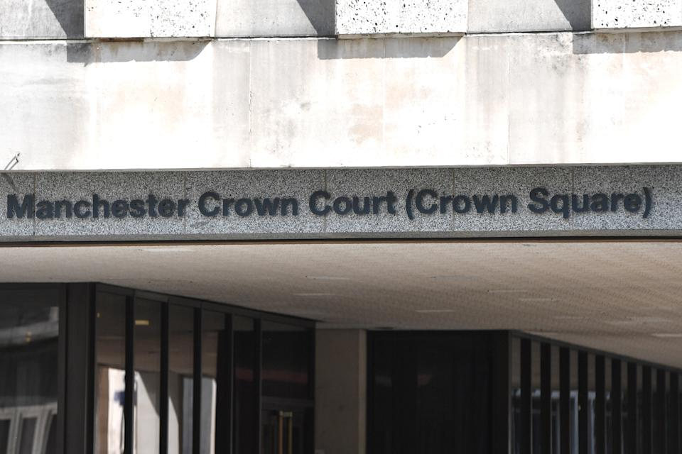 Manchester Crown Court (Crown Square) in central Manchester. (Photo by Anthony Devlin/PA Images via Getty Images)