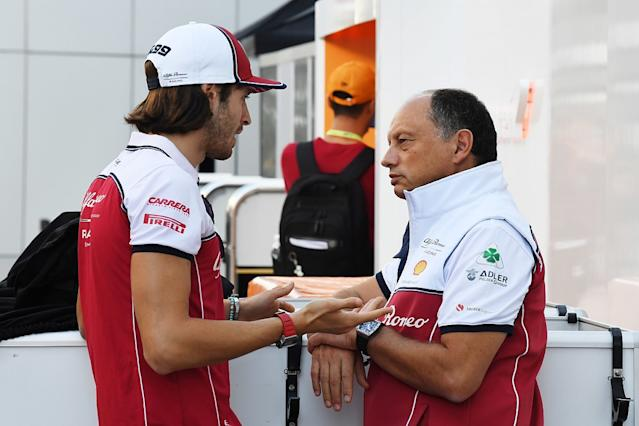 Alfa Romeo expected better than eighth in 2019