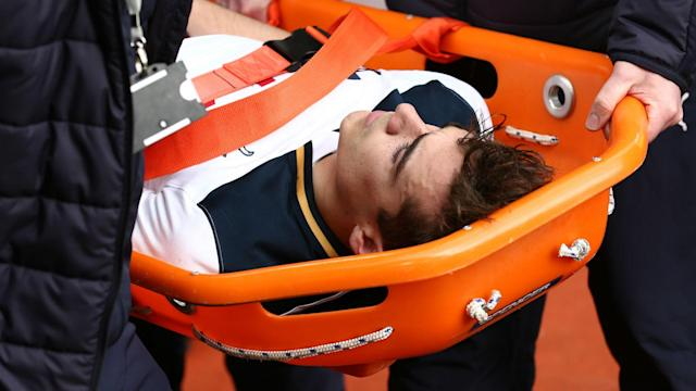 Harry Winks has enjoyed a breakthrough campaign at Tottenham but will not feature again this season due to ankle ligament damage.