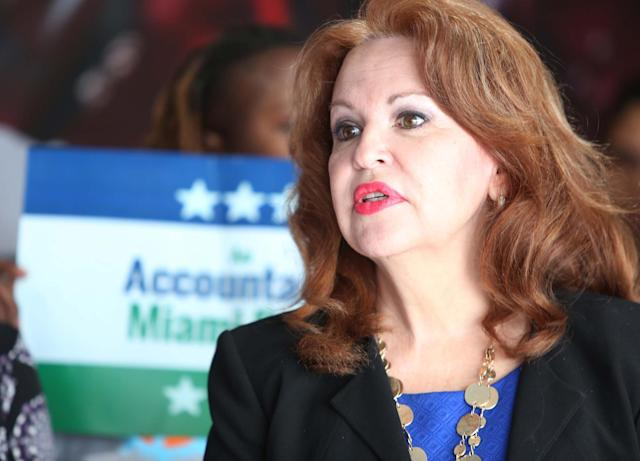Bettina Rodriguez Aguilera, a former Doral city council member and the city's first economic director, will run to replace retiring Rep. Ileana Ros-Lehtinen in Congress in 2018. (Photo: Roberto Koltun/El Nuevo Herald/TNS via Getty Images)