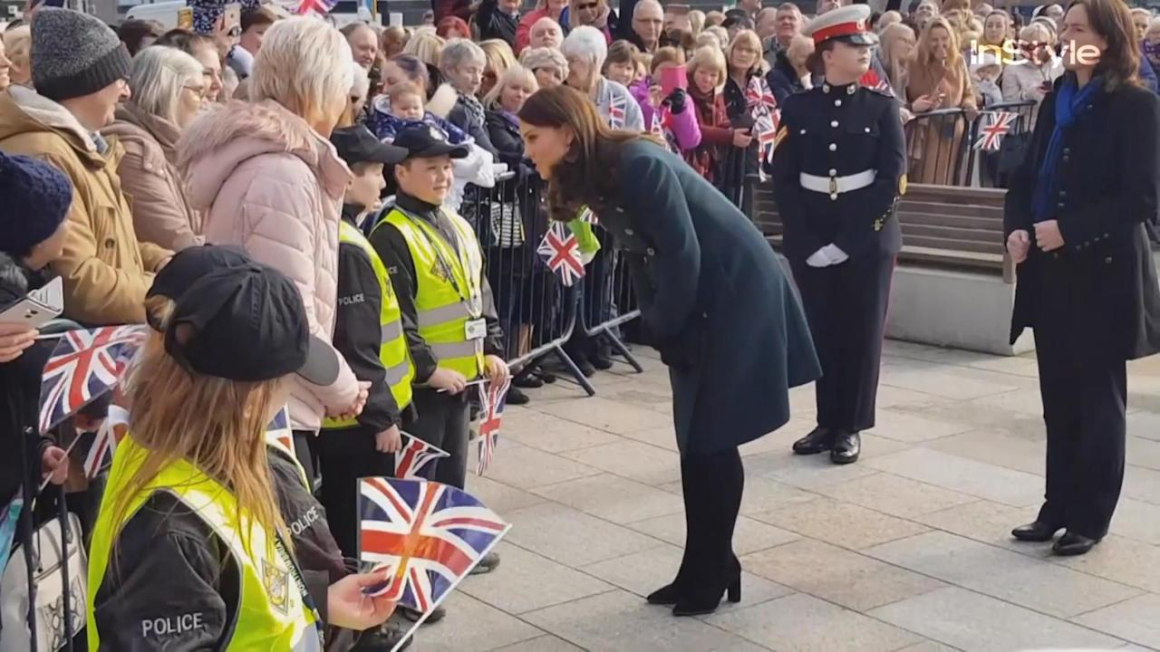 Kate Middleton may be seven months pregnant, but she's still as busy as ever, as evidenced by her latest royal visit.