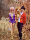 """<p>Phillip Carlyle, Anne Wheeler, and the lion from <em>The Greatest Showman</em> are hoping for a circus this Halloween. Recreate your look by shopping the same styles seen on the<a href=""""http://thesugaredlemon.com/the-greatest-showman-couples-costume-anne-wheeler-and-phillip-carlyle/"""" rel=""""nofollow noopener"""" target=""""_blank"""" data-ylk=""""slk:blogger's tutorial"""" class=""""link rapid-noclick-resp""""> blogger's tutorial</a>.</p><p><a class=""""link rapid-noclick-resp"""" href=""""https://www.amazon.com/Performance-Uniform-Showman-Cosplay-Costume/dp/B07DXNKWPD/?tag=syn-yahoo-20&ascsubtag=%5Bartid%7C10072.g.27868801%5Bsrc%7Cyahoo-us"""" rel=""""nofollow noopener"""" target=""""_blank"""" data-ylk=""""slk:SHOP SIMILAR"""">SHOP SIMILAR</a></p>"""