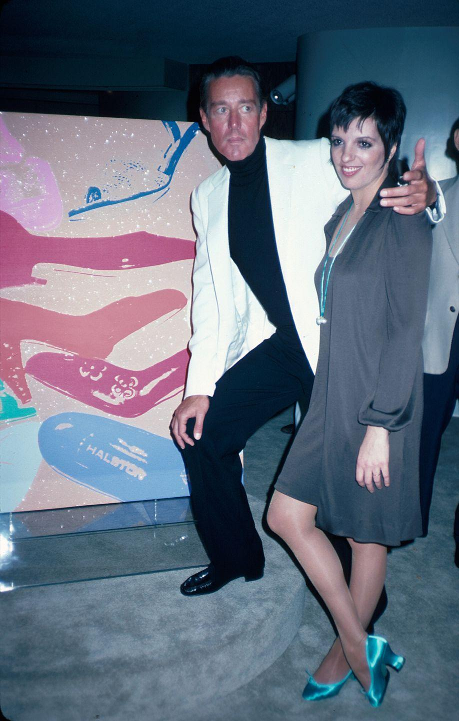 <p>Once again, Halston and Liza Minnelli.</p>