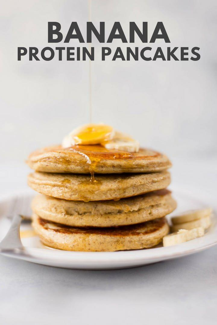"""<p>Got a bunch of overripe bananas sat in your fruit basket to use up and fancy something other than <a href=""""https://www.womenshealthmag.com/uk/food/a706253/healthy-banana-cake-with-chia/"""" rel=""""nofollow noopener"""" target=""""_blank"""" data-ylk=""""slk:banana bread"""" class=""""link rapid-noclick-resp"""">banana bread</a>? Add a hint of natural sweetness to your morning stack with these easy-peasy banana pancakes. Delicious.<br></p><p>Try the recipe yourself: <a class=""""link rapid-noclick-resp"""" href=""""https://www.asweetpeachef.com/protein-pancakes/"""" rel=""""nofollow noopener"""" target=""""_blank"""" data-ylk=""""slk:asweetpeachef.com"""">asweetpeachef.com</a> </p>"""