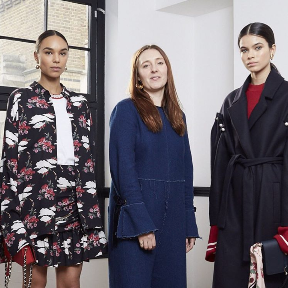 <p>Although the label is relatively small, Amy decided to adopt the see now, buy now model pioneered by much bigger brands like Burberry. She will only produce two collections a year with each available to buy straight after the LFW show.<br><i>[Photo: Instagram/motherofpearl]</i> </p>